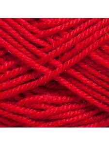 Woolly 65% Wool 35% Acr 50g  Red