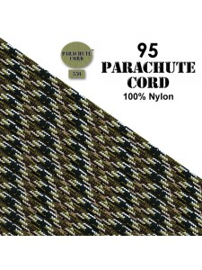 Paracord 95 (2mm) Army Camo 7.6m USA