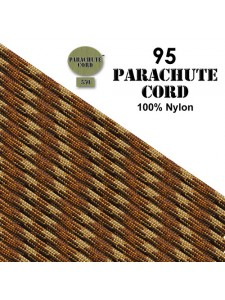 Paracord 95 (2mm) Desert Camo 7.6m