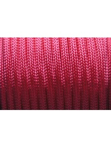 Poly Cord Braided 4mm Cherry 25 meters