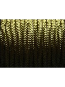 Poly Cord Braided 4mm Olive 25 meters