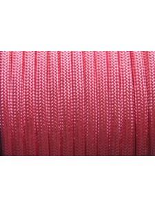 Poly Cord Braided 4mm Pink 25 meters
