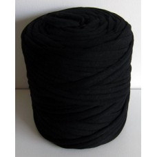 T-shirt Yarn Large Charcoal Black