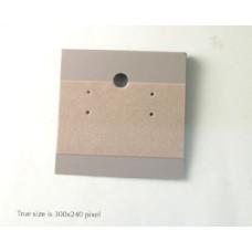 Plastic E/R Cards 50x50mm Grey