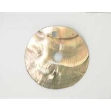Blacklip Disc Pendant