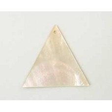 Mother of Pearl Triangle 40mm