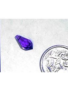 Swar Raindrop Stone 11x5.5mm Amethyst