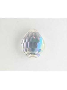 Swar Pear Stone 15mm Clear AB