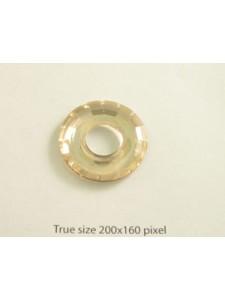 Swar Ring Pendant 25mm Golden Shadow
