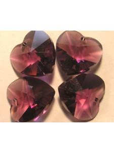 Swar Heart Stone 10mm Amethyst