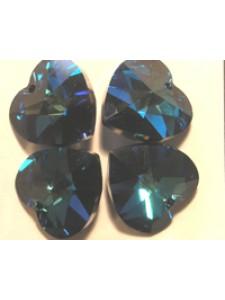 Swar Heart Stone 10.3x10mm Bermuda Blue
