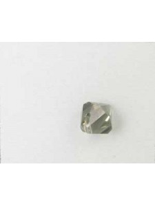 Swar Bi-cone Pendant 8mm Black Diamond