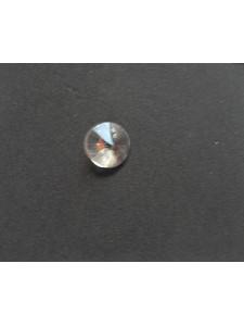 Swar Disc Pendant Bead 6mm Clear