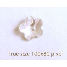Swar Flower 12mm Clear