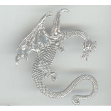 Metal Hanger Dragon