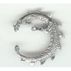Metal Curved Dragon