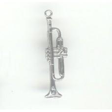 Metal Trumpet Charm