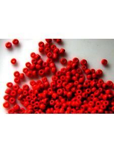 Seed Bead #8 450gram Opaque Light Red