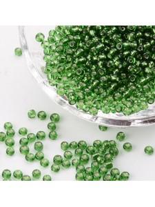Seed Bead #8 450gram S/L Green