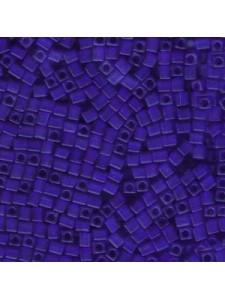 Miyuki Sq 3mm Matte Tran Cobalt 5gram