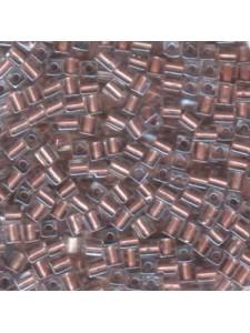 Miyuki Squares 4mm C/L Met.Copper -5gram