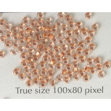 Seed Bead #11 Copper Lined Clear -10gram