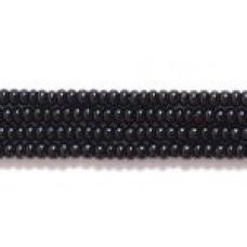 Czech Seed Bead #12 Black - per 10 gram