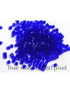 Maco Tubes 1.3x1.3mm Cobalt - per 5 gram