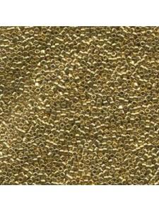 Delica Size 10 24K Light Gold plat 7.2gr
