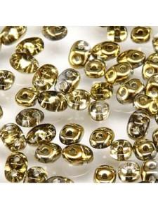 Superduo 2.5x5mm Amber -24gr