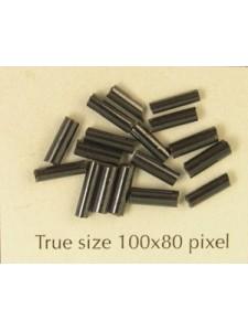 Bugle 6mm Black Metallic-per10 gram
