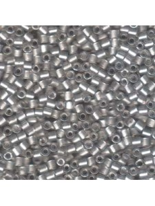 Delica 8/0 Galvanised Crystal  6.8gram