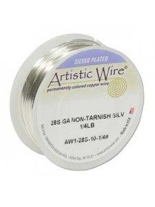 Artistic Wire Copper Silver Pl NT 26yds