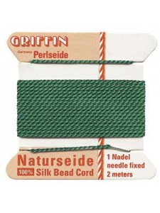 Griffin Silk BD Cord #12 2mtr Green