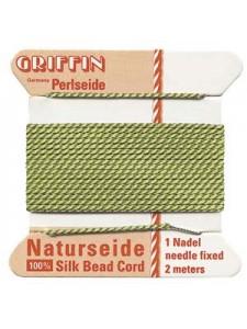 Griffin Silk BD Cord #2 Jade