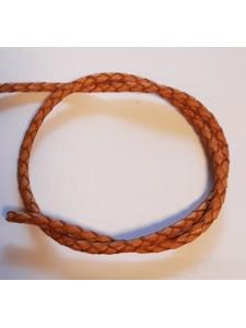 Bolo Leather Cord 3mm Antiq Natural 1mt