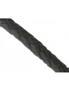 Bolo Leather Cord 6mm Black 1mt