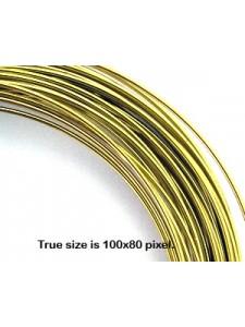 Brass Wire 0.8mm 20 gauge 5meter