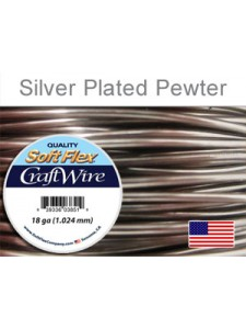 Soft Flex 18GA Silver Pl Pewter 20 feet