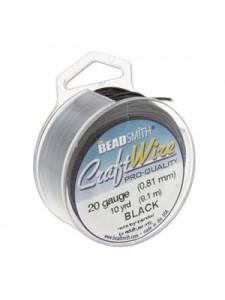 Craft Wire 20GA 10 YDS Black