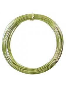 Aluminium Wire 12 ga Apple Green 39 feet