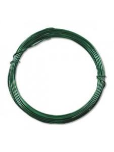 Aluminium Wire 12 ga Kelly Green 39 feet