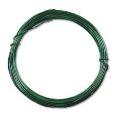 Aluminium Wire 12 ga Kelly Green 39 feet