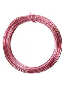 Aluminium Wire 12 ga  Pink 39 feet