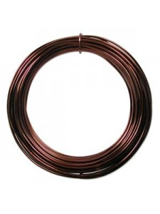 Aluminium Wire 12 ga Ice Brown 39 feet