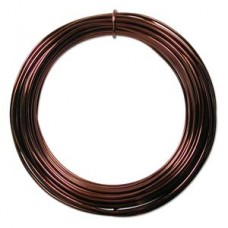 Aluminium Wire 12 ga Ice Brown 39 feet