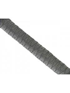 Mesh Ribbon 6mm Black  - per 1 Mtr