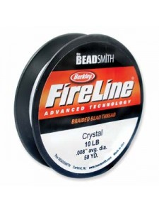 Fireline 10LB Crystal  .20mm 50YDS
