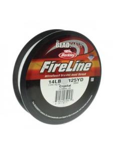 Fireline  0.22mm 14LB Crystal 125YDS