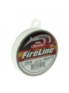 Fireline 0.009in 0.22mm 14LB Crystal 50Y